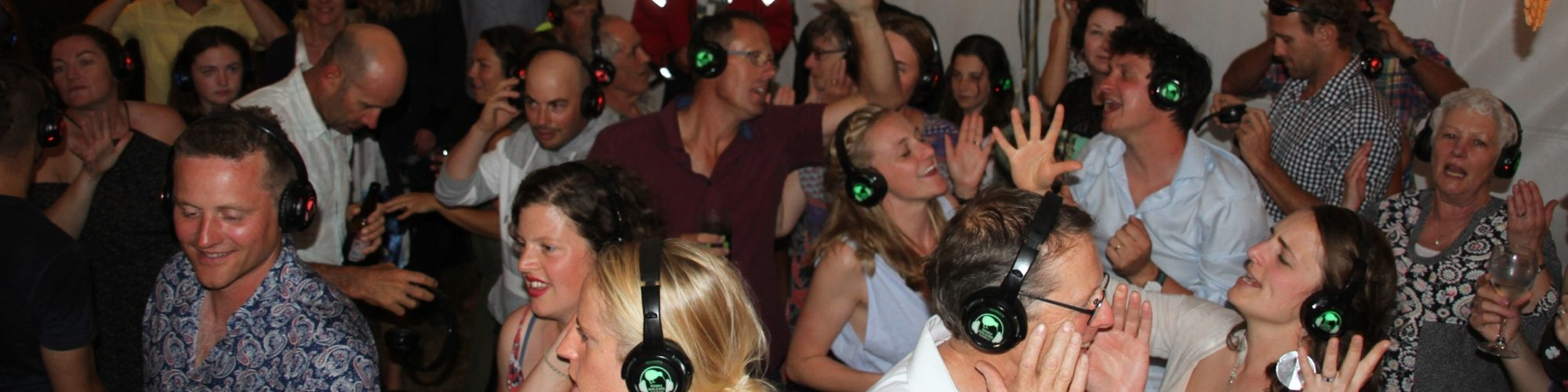 A Silent Disco is a great addition to any party and is enjoyed by all ages!