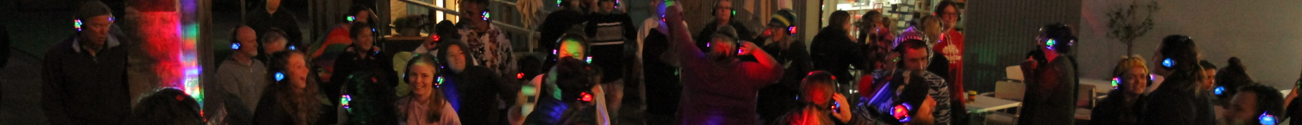 Dawn Rave Silent Disco at Kirby Lane in Nelson