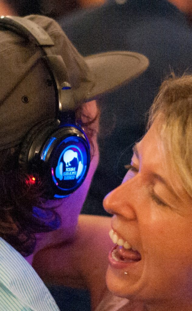 Silent Disco brings people together
